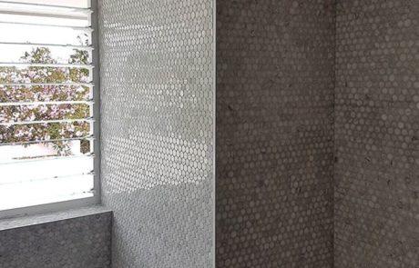 Bathroom Shower Stone Restoration