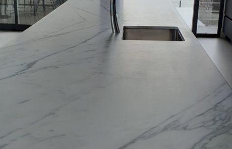Beautiful Carrara marble