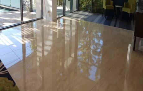 Polished Stone Flooring
