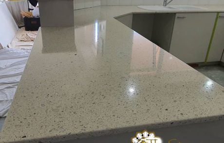 The product of choice for newly honed Italian terrazzo